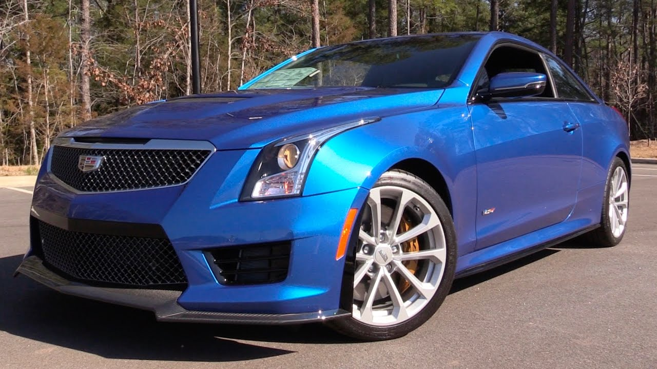 2017 Cadillac Ats V Coupe 6 Spd Road Test In Depth Review Youtube