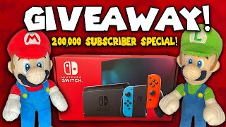 Mario and Luigi's Nintendo Switch Giveaway! - 200,000 Subscriber Special