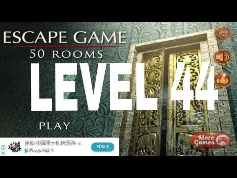 Escape Game 50 Rooms 1 Level 44 Walkthrough Youtube