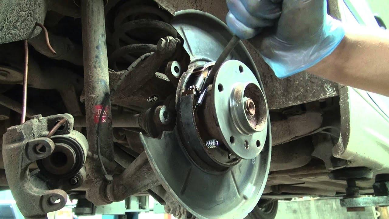 Touareg V10 Tdi >> BMW e46 320d wymiana szczęk, klocków, naprawa tylnego u