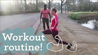 My Workout Routine  Rens Kroes