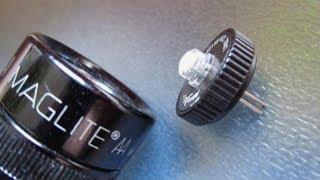 Ставим светодиод в фонарь Maglite