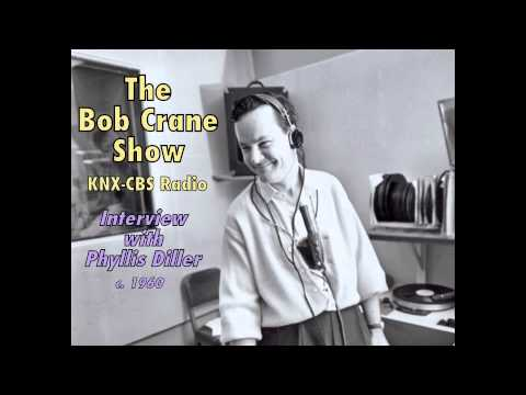 The Bob Crane Show / KNX-CBS Radio / Interview with Phyllis Diller (c. 1960)