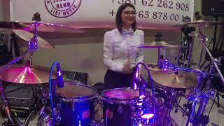 Miljana Bubanj GoPro cam (Ocajne Domacice Bend) Nesvil, DRUMS GIRLS