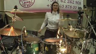 Miljana Bubanj GoPro cam (Ocajne Domacice Bend) Nesvil, Krusevac 8 Mart