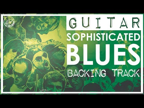 Sophisticated Blues Backing Track in B