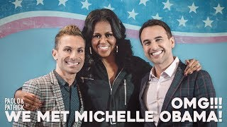 MICHELLE OBAMA Meet & Greet tea!!