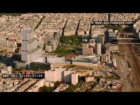Aerial Footage Paris XVII Clichy-Batignolles