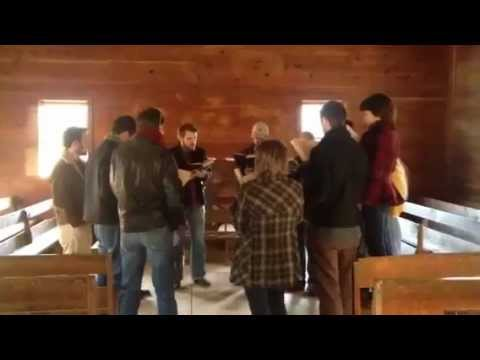 """Soar Away"" (Sacred Harp 455) Cades Cove Primitive Baptist Church"