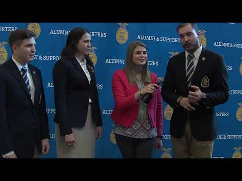 Catching Up With FFA Alumni & Supporters | 91st National FFA Convention & Expo