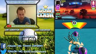 Golf Clash stream, Opening round back 9! Creepy Cliffs - Masters TEE