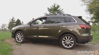 2015 Mazda CX-9 Grand Touring Test Drive Video Review