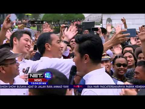 Serunya Peringati Sumpah Pemuda Bareng Presiden Jokowi di Istana Bogor - NET12