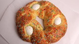 Italian Easter Sweet Bread Recipe - Laura Vitale - Laura in the Kitchen Episode 357