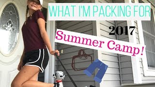 What I'm Packing for Summer/Sleepaway Camp 2017!|COLLAB