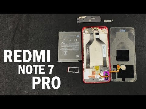 Redmi Note 7 Pro Unboxing, First Impression, look Inside the handset (Hindi)