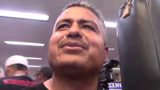 ROBERT GARCIA - 'MIKEY GARCIA REALLY CALLED OUT KEITH THURMAN, MIKEY DONT PLAY'