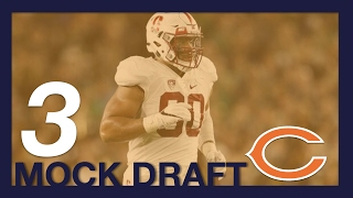 2017 NFL Mock Draft -Chicago Bears - 3rd Pick - DE Solomon Thomas From Stanford Free HD Video