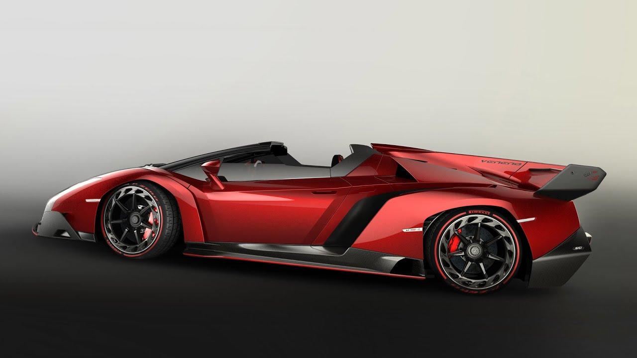 Lamborghini Veneno Roadster Full Specification Review Hd
