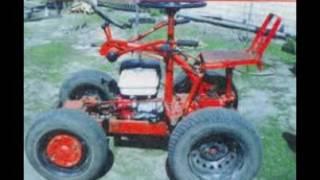 саморобні міні трактора