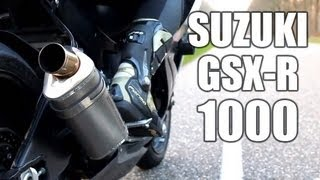 Suzuki GSX-R 1000 K6 | Yoshimura | Sound check & power wheelies! | Engine sound only