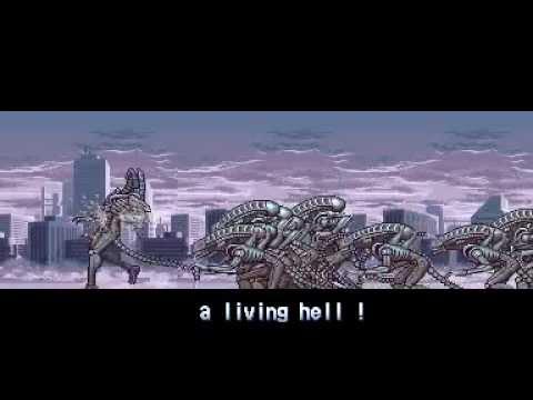 Alien vs. Predator [The Arcade Game] (3-player Playthrough - pt.1)