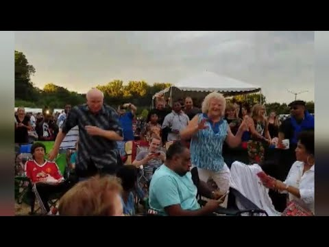 Watch Couple Married 40 Years Wow With Their Dance Moves At Ludacris Concert