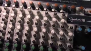 Soundcraft Signature 16 console review part 1 overview of the mixer