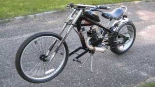 Motorized Chopper Bike
