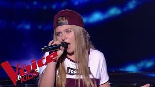 Lady Gaga - Born this way | Justine | The Voice Kids France 2019 | Blind Audition