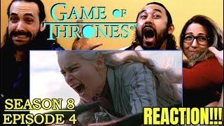 GAME OF THRONES Season 8 Episode 4 - REACTION!!!