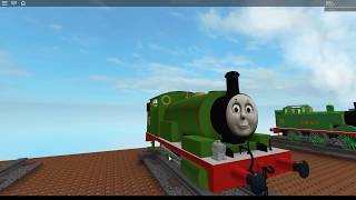 Thomas and Friends - Percy Roblox train Crash