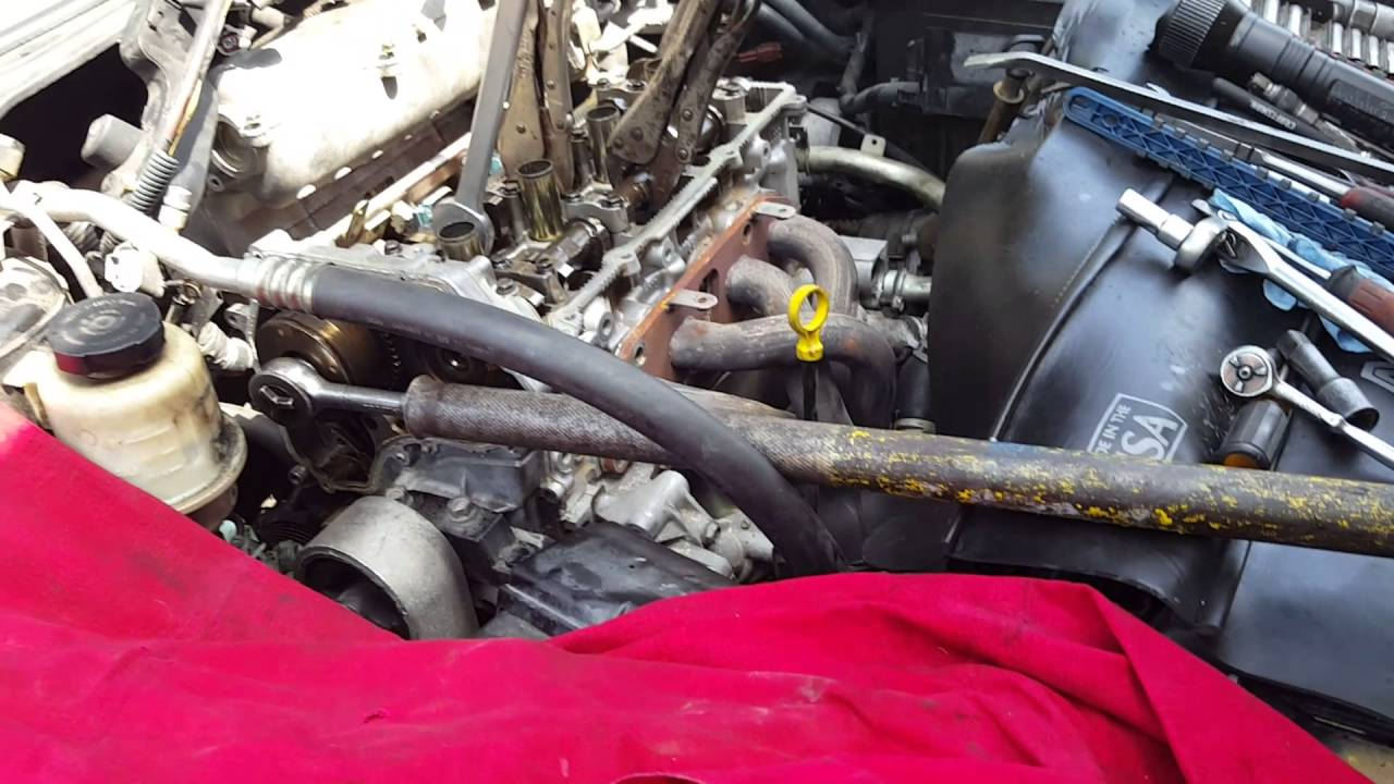 hight resolution of 2006 nissan altima 2 5 cylinder head removal notes