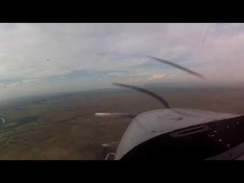 Flying over the savannas of Guyana