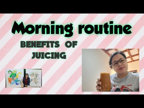 Benefits of juicing in our body, ill or not it is advisable  to take some juicing//Momi Elyn in Oman