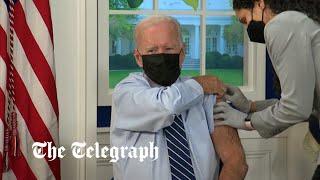 video: Watch: Joe Biden gets a booster jab