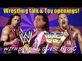 Pizarro's Pieces talks WWE Wrestling with Big C plus vintage figure opening!