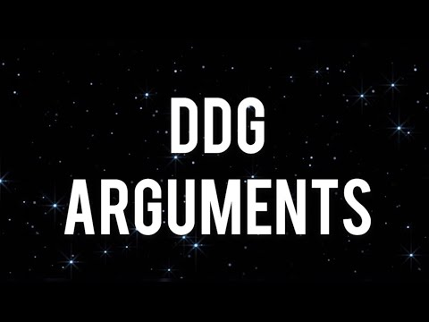 DDG - Arguments (Lyrics)