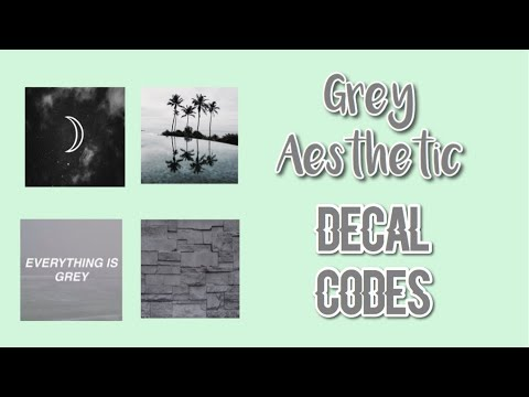 Roblox Bloxburg Grey Aesthetic Decal Id S Youtube