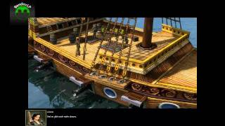 Lets play age of empires 3 part 4  VertreibungPIRATEN