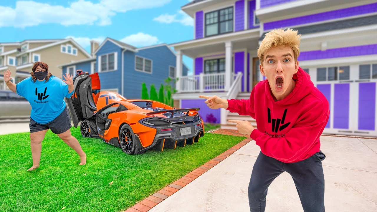 Mystery Spy Ninja Stole My McLaren Supercar! *Cops Called*