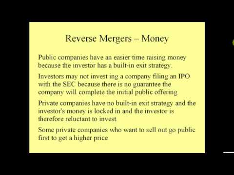 Definition: What is a Reverse Merger