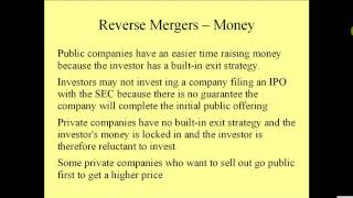Reverse Merger -- What is a Reverse Merger  www.reverse-merger.info