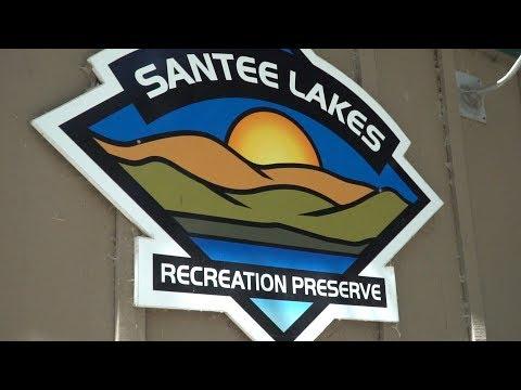Fishing For Largemouth Bass -- Santee Lakes