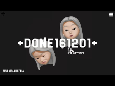 MALE VERSION | CL - +DONE161201+