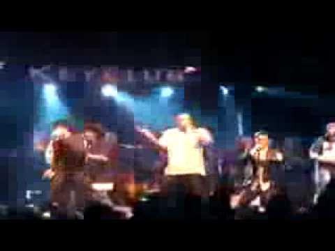 kon feat Colby O Donis & Kardinal Offishall doing live