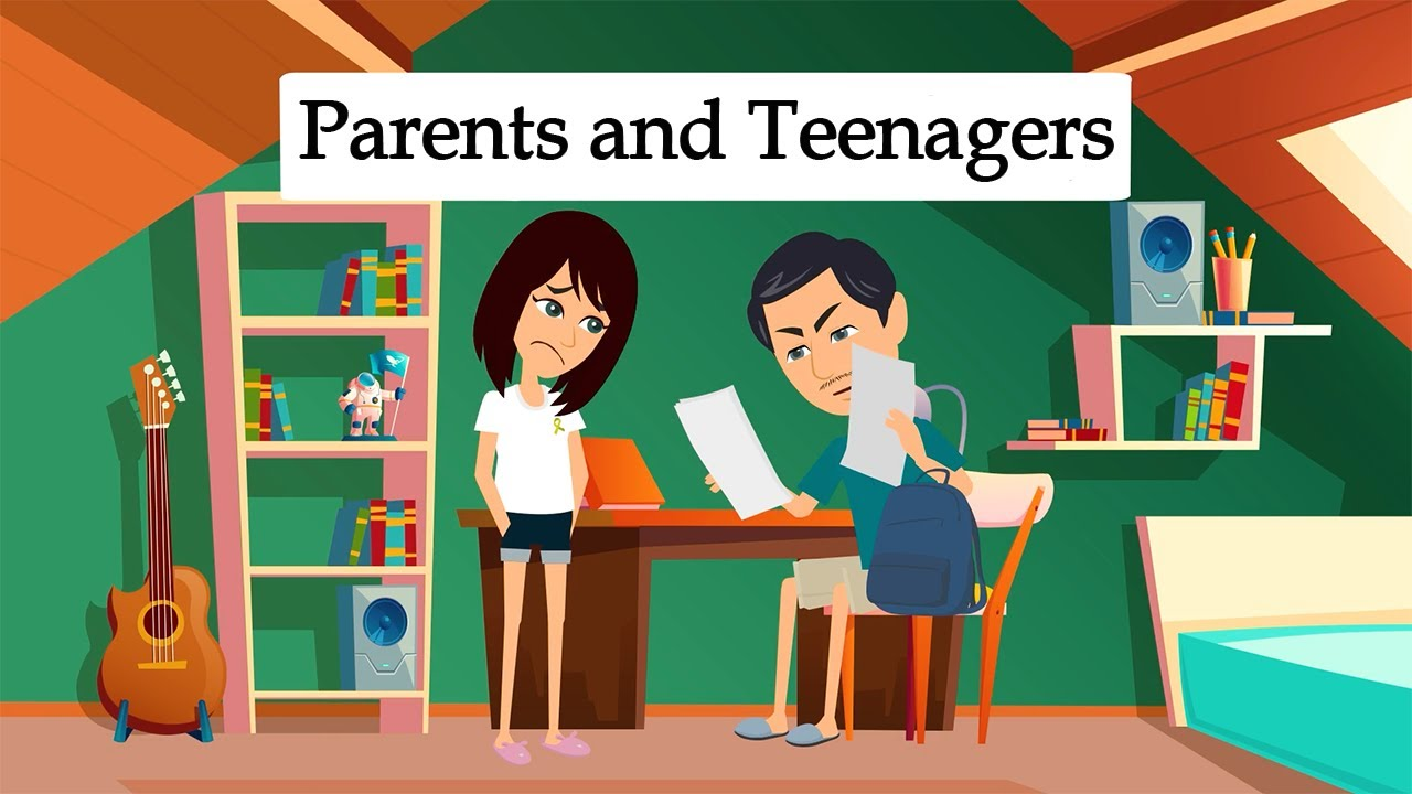 Conversations Between Parents and Teenagers -  Learn English with Subtitles