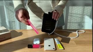 와디즈 펀딩! 폴스부띠끄 미니쉘 핸드폰가방 수납력
