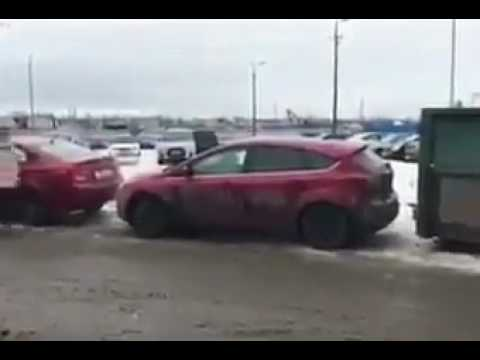Girl Parking