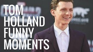 Tom Holland Funny Moments | Part 1